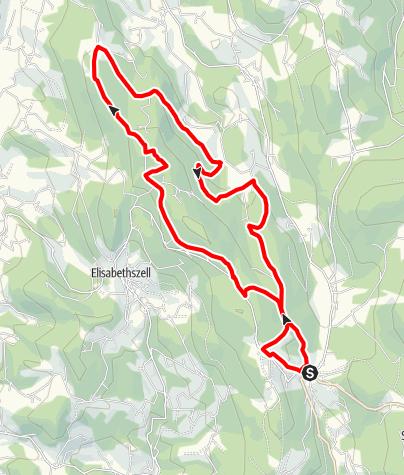 Karte / Kreuzhaus - Zierling von Grün