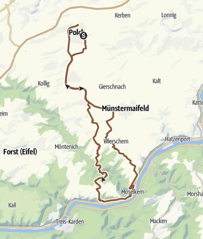 Karte / Burg Elz