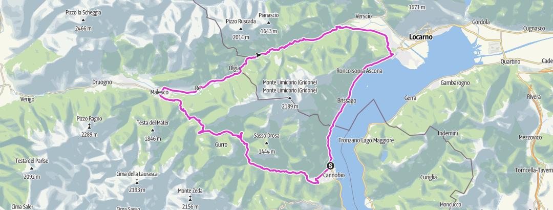 מפה / Cannobio 1
