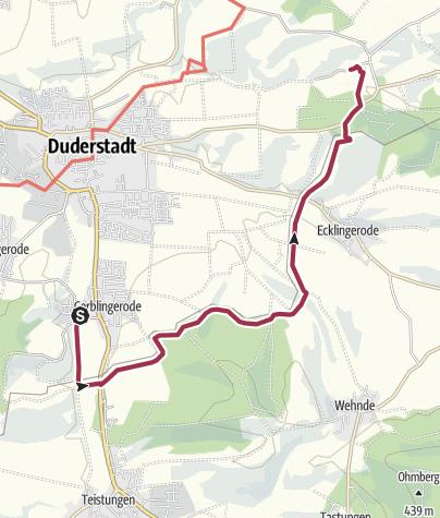 Karte / Gerblingerode-Heinz Sielmann Stiftung (Grünes Band Eichsfeld/Werratal)