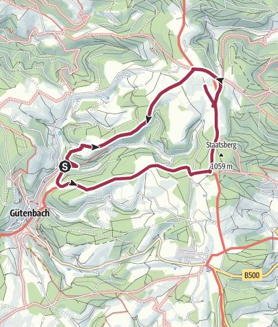 Map / Einmal ums Hübschental herum