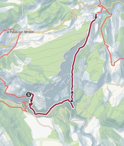 Karte / Sentier Martel