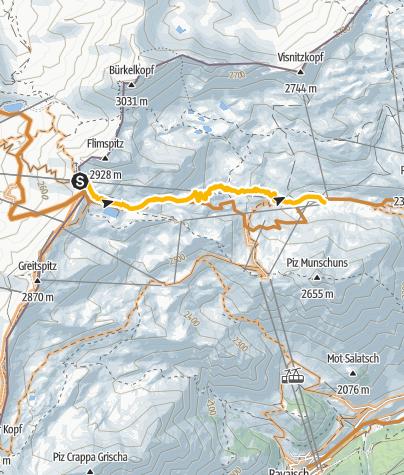 Karte / 697 Viderjoch
