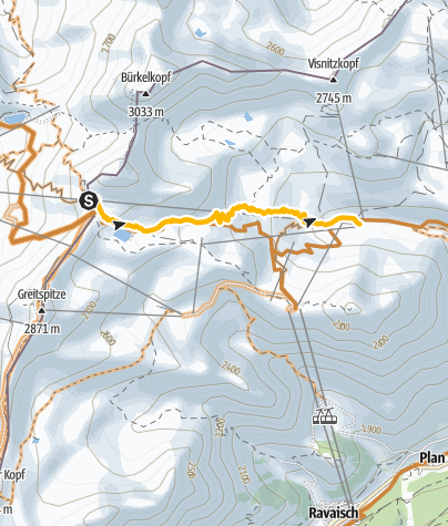 Map / Enduro-Trail Viderjoch – Alp Trida