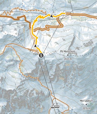 Map / Flow-Trail Alp Trider Sattel – Alp Trida