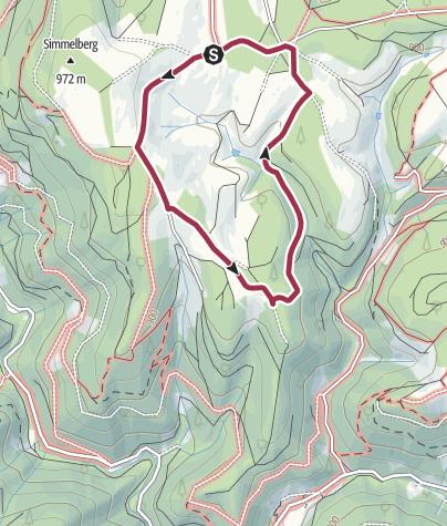 Map / Rund um den Fallengrund
