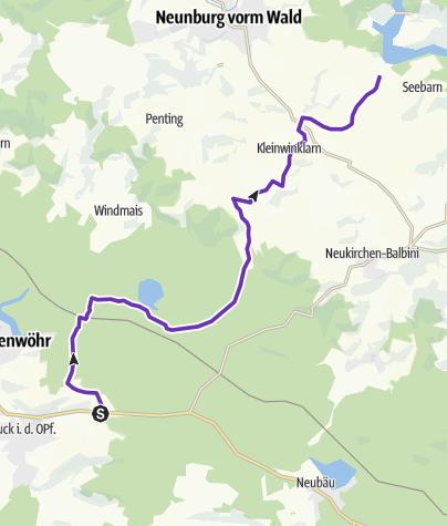 Karte / 34: Mappach - Gütenland