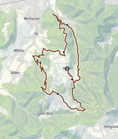 Karte / Rund um Horben