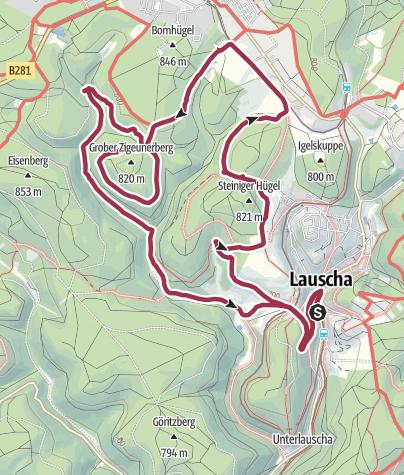 Karte / Brunnenroute