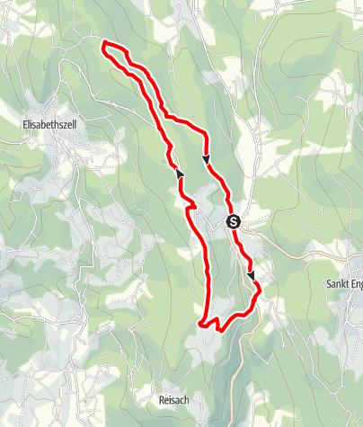 Karte / Riedelswald von Grün