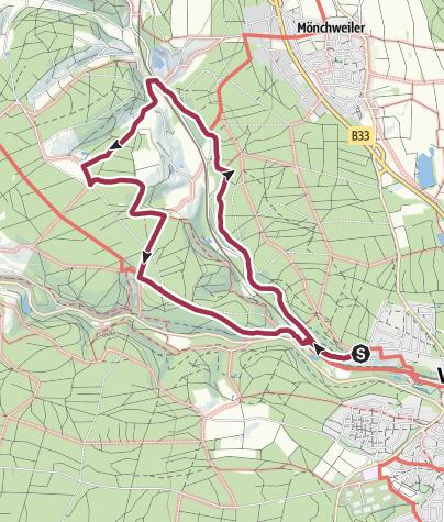 Karte / Genießerpfad Waldpfad Groppertal
