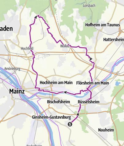 מפה / Bau-Rü-Kost-Klopp-Wallau-Died-Flörs-Bau