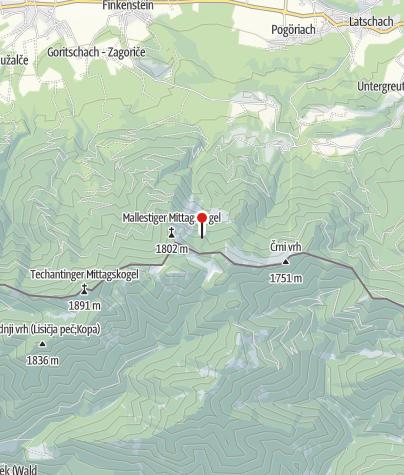 Karte / M.Moitzl-Hütte 1639m