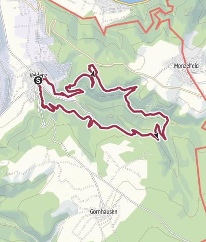 Karte / Seitensprung Graf Georg Johannes
