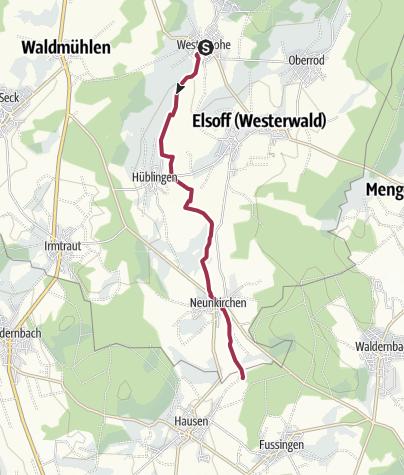 Karte / Eisvogelweg