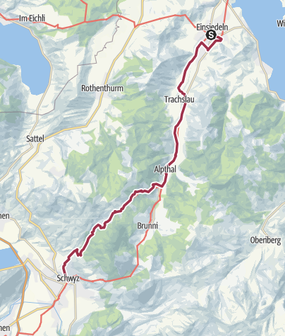 Karte / Viajacobi Etappe 5
