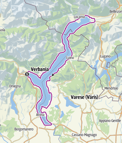 Karte / Lago Maggiore