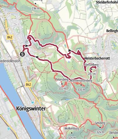 Karte / Oberdollendorf