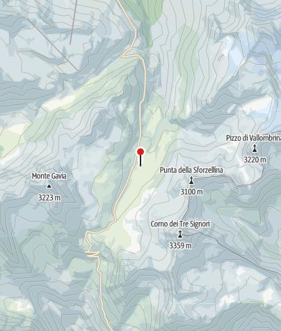 Karte / Rif Berni 2560m