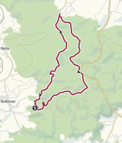 """Map / Wanderung zur """"Hohen Tanne"""""""