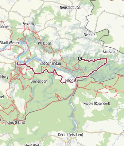 Map / Tourenplanung am 15. August 2016