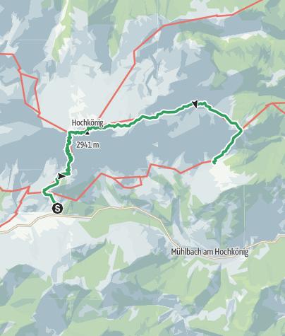 Map / Königsjodler klettersteig