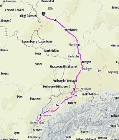Karte / Schweiz 3