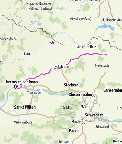 Karte / Dünstein Poysdorf