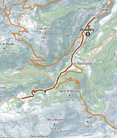 Map / Parcours La Braye Challenge