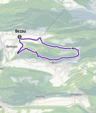 Map / Bezau | Cliff run