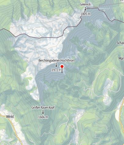 Karte / Scheibenkaser 1440m