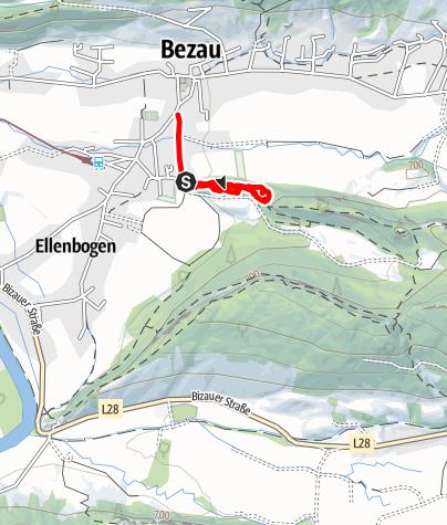Karte / Bezau | Huks-Kinderrunde