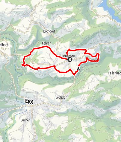 Map / Lingenau | Panorama Path