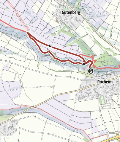 "Karte / Roxheimer ""Roxl"" Weg  Wein-Erlebnispfad"