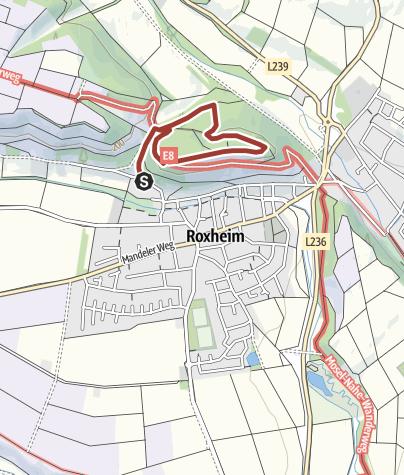 """Map / Roxheimer """"Roxl"""" Weg Natur-Erlebnispfad"""