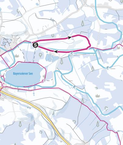Karte / Winterwanderung - Panoramaweg
