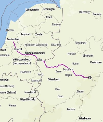 Karte / Amsterdam 17 September 2016