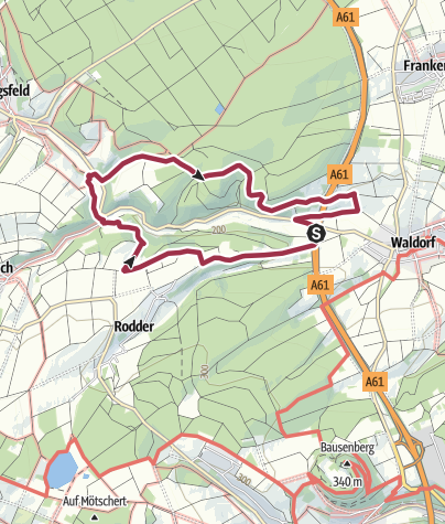 Karte / Zwischen Waldorf und Königsfeld - mit Hunden