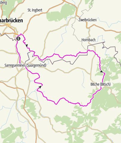 Kart / Tourenplanung am 6. September 2016
