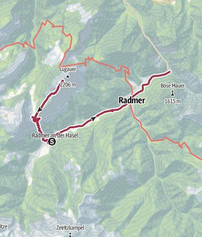 Karte / Lugauer