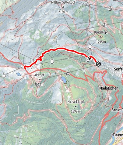 Von Serfaus Zum Kolner Haus Wanderung Alpenvereinaktiv Com