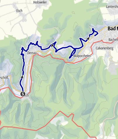 Karte / Rech-Ahrweiler