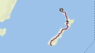 Map / Te Araroa full length