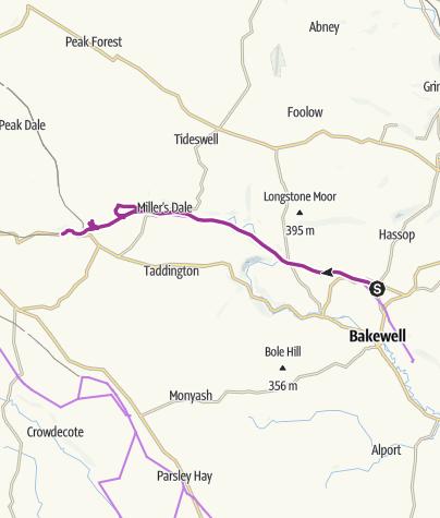 Karte / Monsal Trail