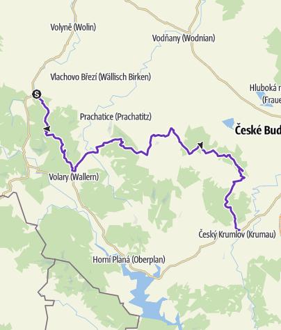 Karte / BLK 100km