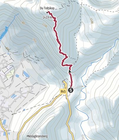 Map / DuToitsKop Franschhoek