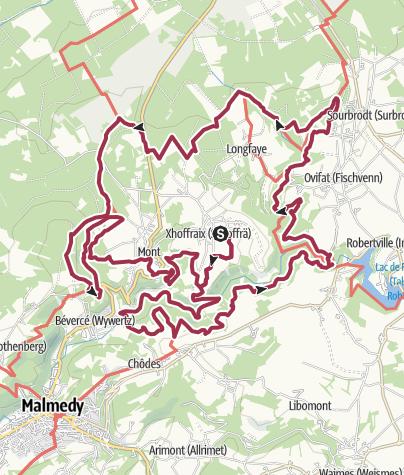 Karte / THF 2017-18 40 km