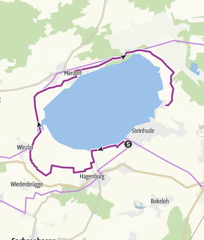 Karte / Steinhuder Meer Teil 1