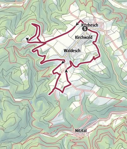 Karte / Tourenplanung am 4. Oktober 2016