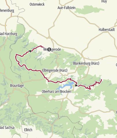 Map / Tourenplanung am 5. Oktober 2016